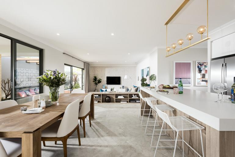Nelson I - Display Home - Living/Kitchen