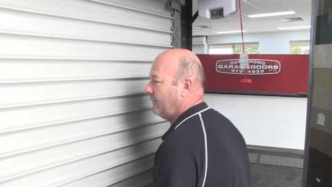 Watch Video: Operating a Roller Garage Door Manually