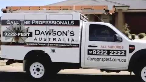 Watch Video: Dawsons Pest Control Australia Ad - Pest Control