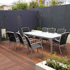 Balwyn Outdoor Decking Design and Feature Wall