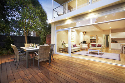 View Photo: Decking and Outdoor Entertainment Area