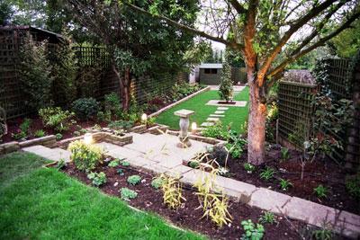 Garden Lit Paradise