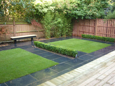 Landscaping and Paving Garden Design