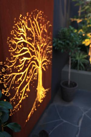 View Photo:   Tree of life light feature