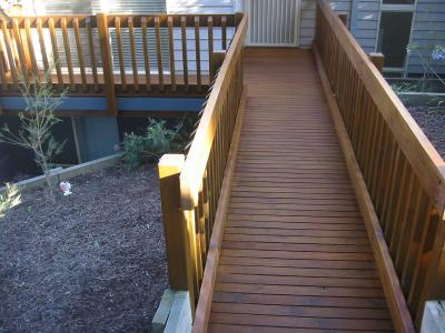 Treated Pine Decking After Treatment