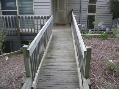 View Photo: Treated Pine Decking Before Treatment