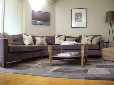 View Photo: Lounge in Blues & Greys