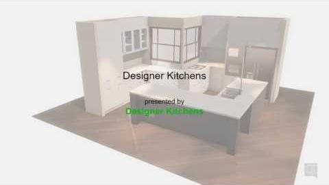 Watch Video: Designer Kitchens - Virtual Kitchens