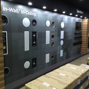 View Photo: In-wall speakers