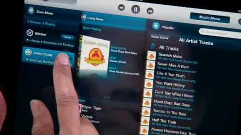 Watch Video: Sonos Ipad Application