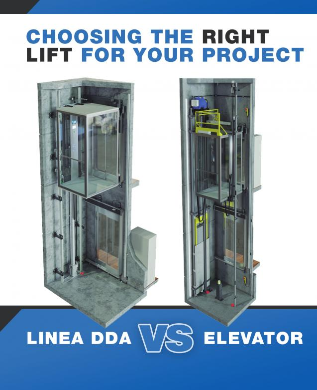 Read Article: Why choose Linea DDA over Elevator?