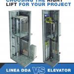 Why choose Linea DDA over Elevator?