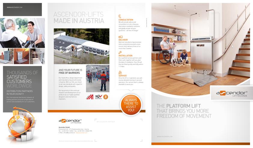 View Brochure: Ascendor Wheelchair Platform Lift