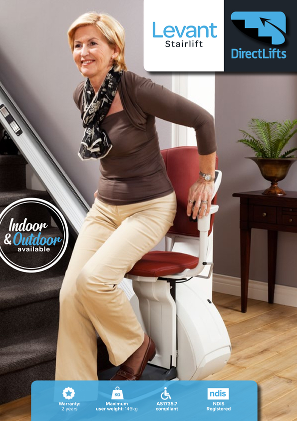 View Brochure: Levant Stairlift for Straight Stairs