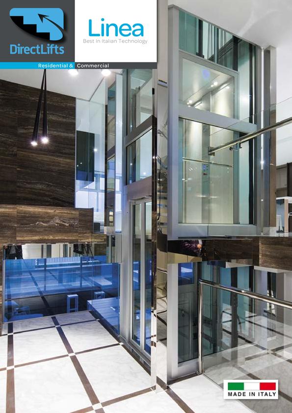 View Brochure: Linea Home Elevator