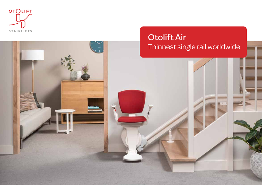 View Brochure: Otolift Stairlift for Straight & Curved Stairs