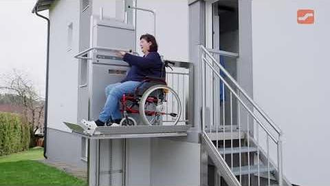 View: Wheelchair Platform Lift ( Ascendor )