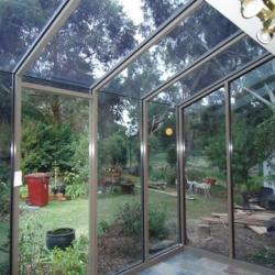 View Photo: Commercial Aluminium Hooded Garden Window
