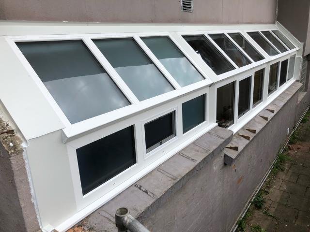View Photo: Custom double glazed roof window box with upvc windows