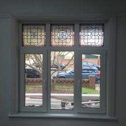 View Photo: Double glazed window incorporating handmade leadlight