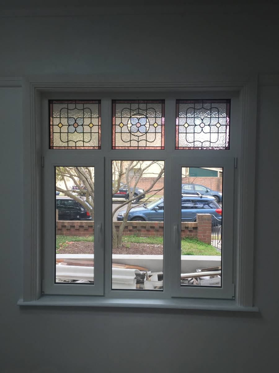 View Photo: Double glazed window incorporating handmade leadlight
