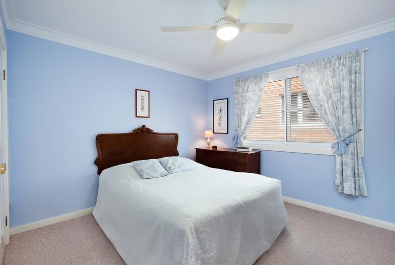 High performance noise reducing bedroom window