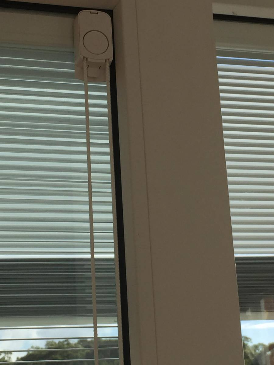 View Photo: Integrated Venetian blinds inside the double glazed units with upvc double glazed windows
