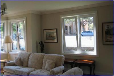 tilt & turn window: double glazed upvc window