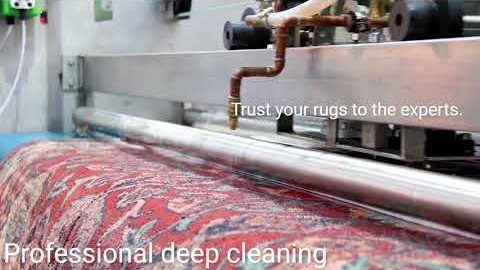 Watch Video: Factory Rug Cleaning