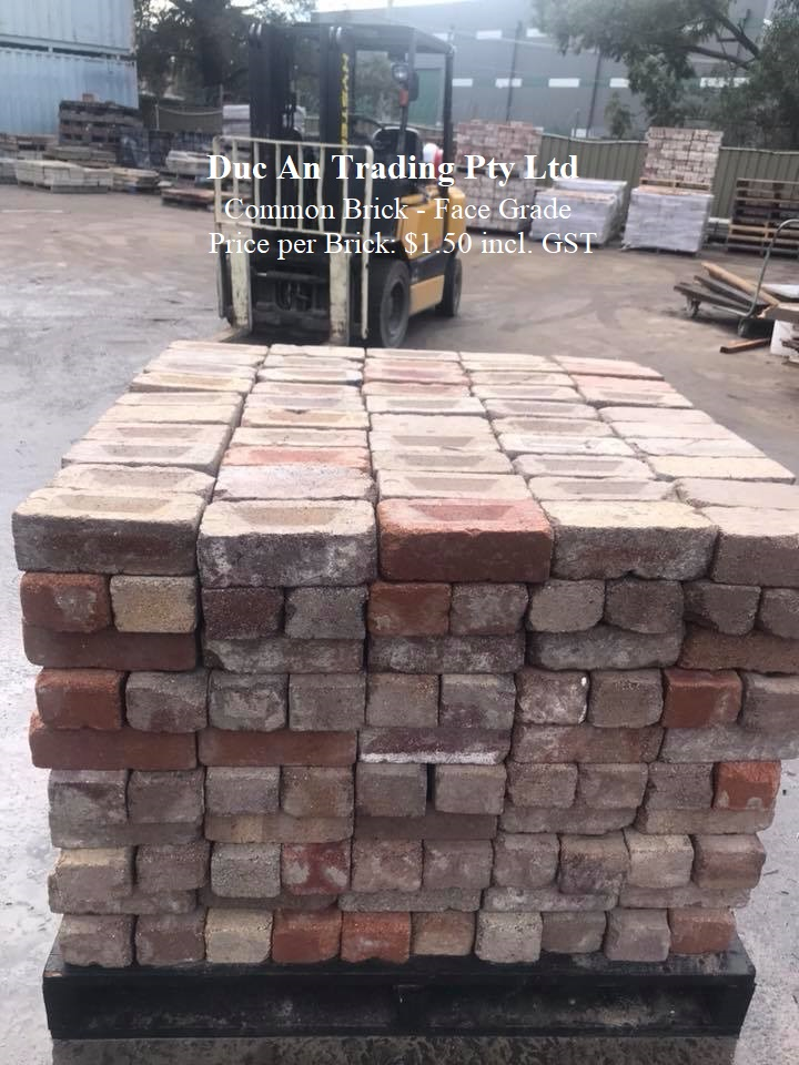Recycled Solid Brick - Face Grade