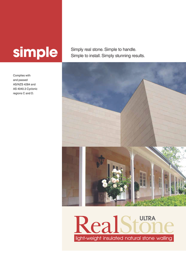 Browse Brochure: RealStone Brochure