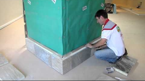 Watch Video: Real stone wall cladding has never been this clean and cost effective Wall Panelling Wall Insulation