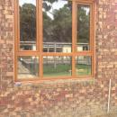 View Photo: Double glazed window with 'woodgrain' finish