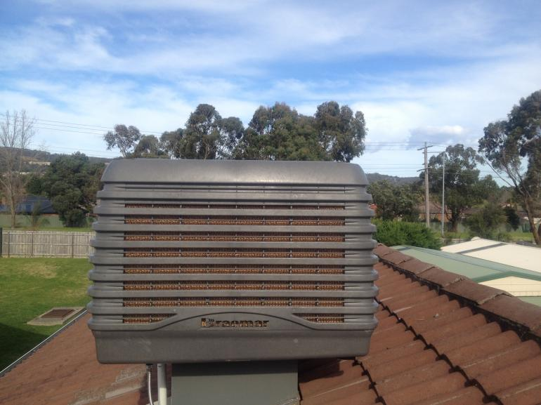 View Photo: Evaporative Cooler Installation
