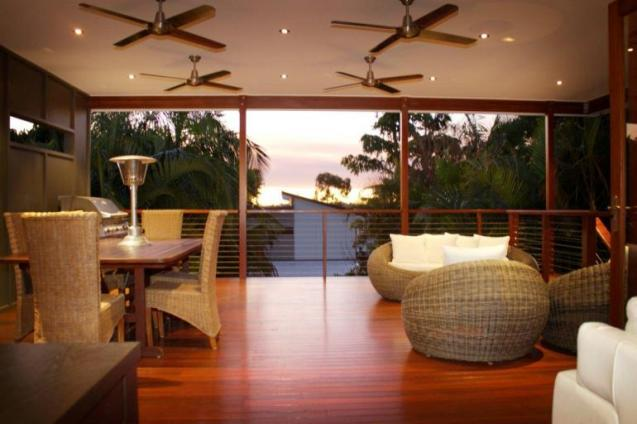 View Photo: Large deck offers a fantastic space to entertain