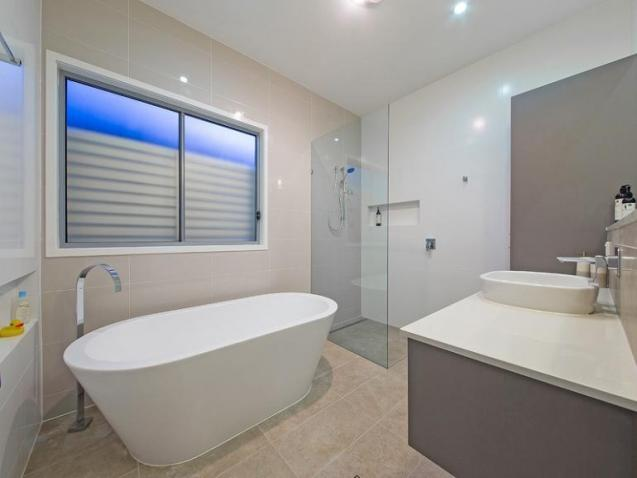 View Photo: Modern bathroom.