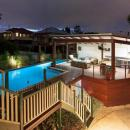 View Photo: Modern deck & pool.