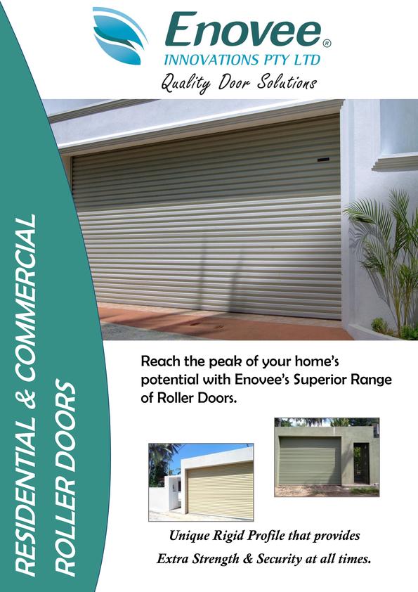 Browse Brochure: Enovee Roller Door Brochure