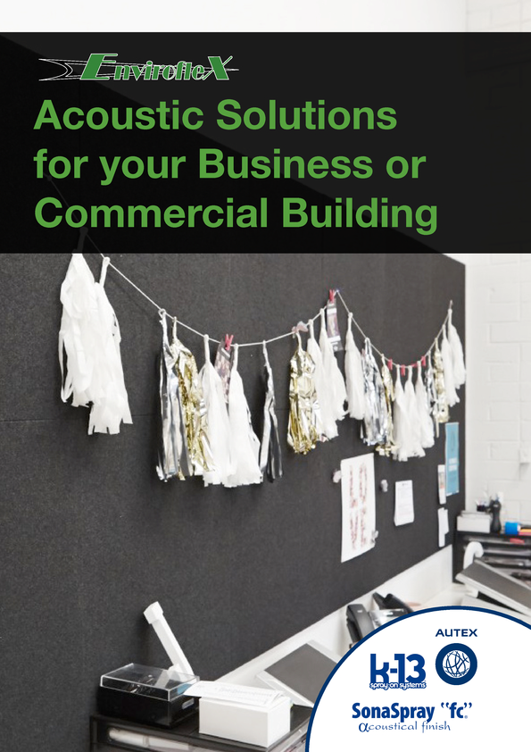 View Brochure: Acoustic Solutions