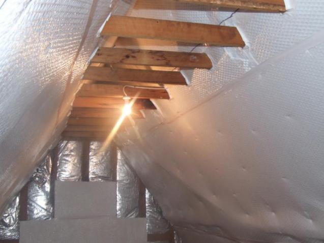 View Photo: Air-Cell in Roof