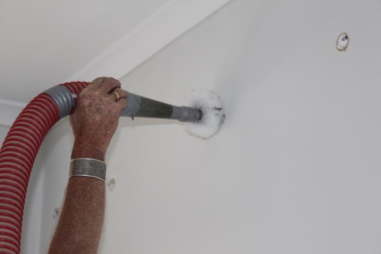 View Photo: Envirowall install from internal walls
