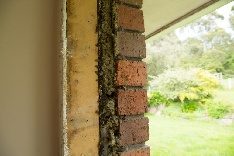 View Photo: External Cavity Wall Insulation post install