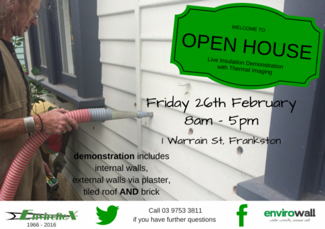 View Photo: OPEN HOUSE - Retrofit Wall Insulation Demonstration