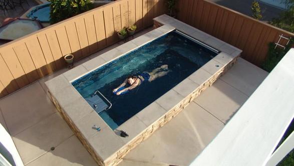 Swimming machines photo fastlane pools brisbane qld for Pool design course