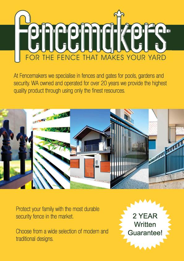 View Brochure: Fencemakers Brochure