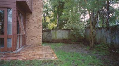 Courtyard – Before
