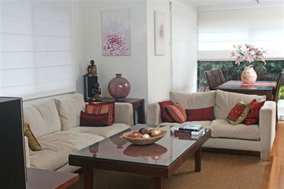 Living Area – After
