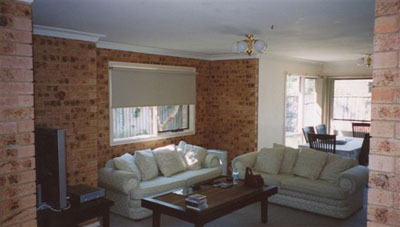 Living Area – Before