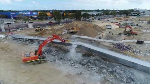 Watch Video: Focus Demolition - Carousel Shopping Centre Project