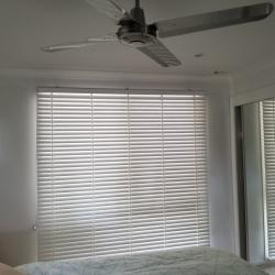 View Photo: Bedroom - White Timber Venetian Blinds